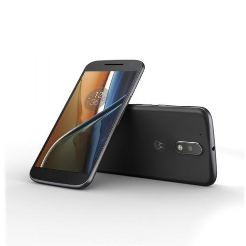 Lenovo Moto G4 Dual SIM černý + dárek