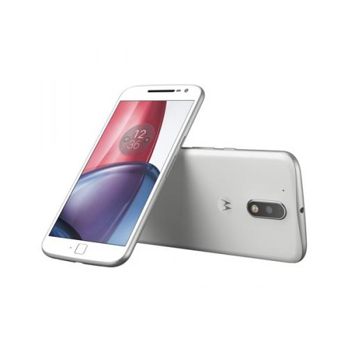 Lenovo Moto G4 Plus Dual SIM bílý + dárek
