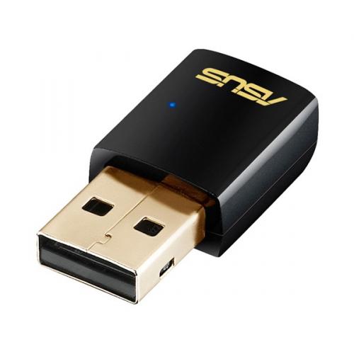 Wi-Fi adaptér Asus USB-AC51 - AC600 dvoupásmový Wi-Fi USB