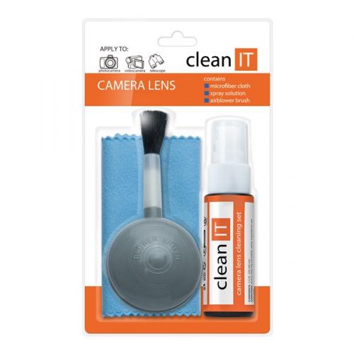 Clean IT na čištění objektivů a čoček se štětcem