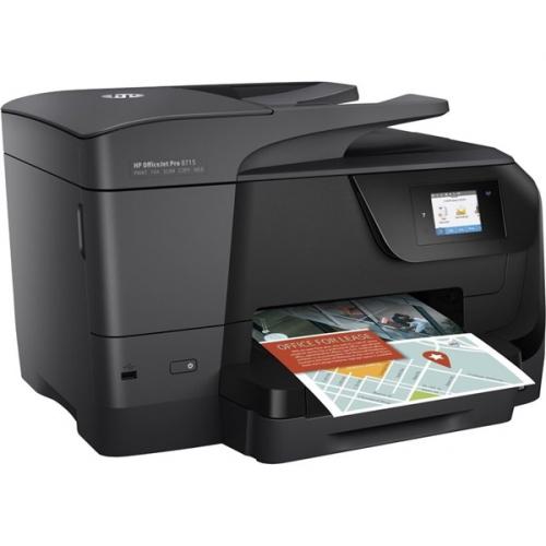 HP Officejet Pro 8715 černý