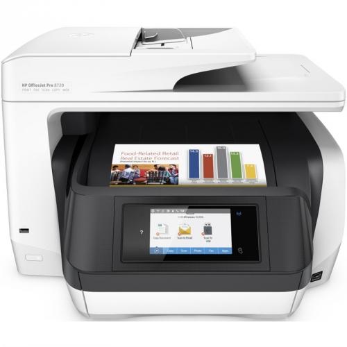 HP Officejet Pro 8720 bílý
