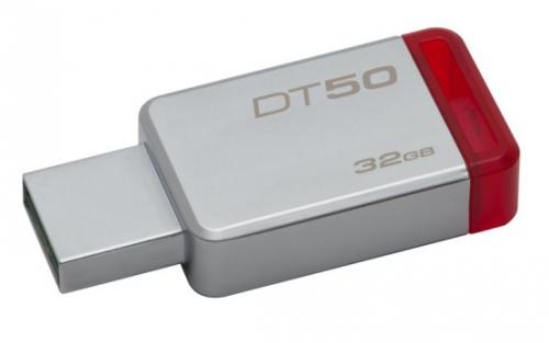 Kingston DataTraveler 50 32GB červený/kovový