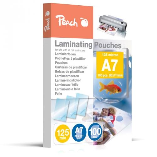 Peach A7 (111x154mm), 125mic, PP525-05, 100pck/BAL