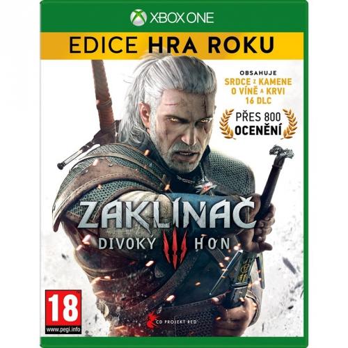 CD Projekt Xbox One Zaklínač 3: Divoký hon - Edice hra roku (8595071033887)