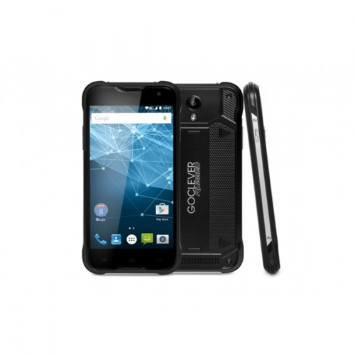 GoClever QUANTUM2 500 Rugged Black LTE, odolný černý + dárky