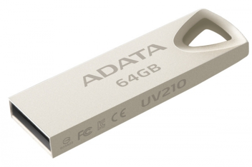 A-Data UV210 64GB kovová