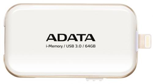 A-Data UE710 64GB pro Apple bílá