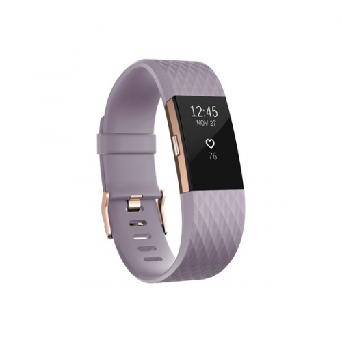 Fitbit Charge 2 large - Lavender Rose Gold