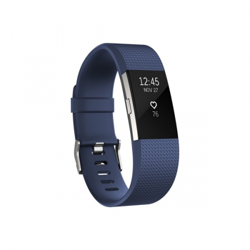 Fitbit Charge 2 small - Blue Silver