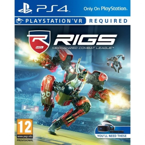 Sony PlayStation VR RIGS Mechanized Combat League (PS4)