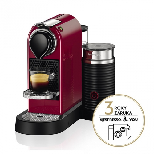 Krups Nespresso Citiz XN760510 červené