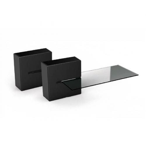 Meliconi GHOST CUBE Shelf černé