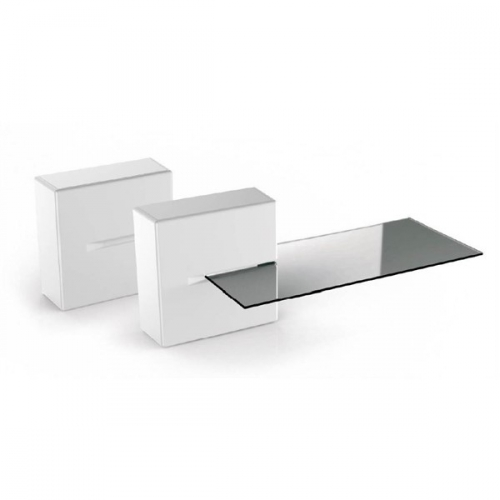 Meliconi GHOST CUBE Shelf bílý