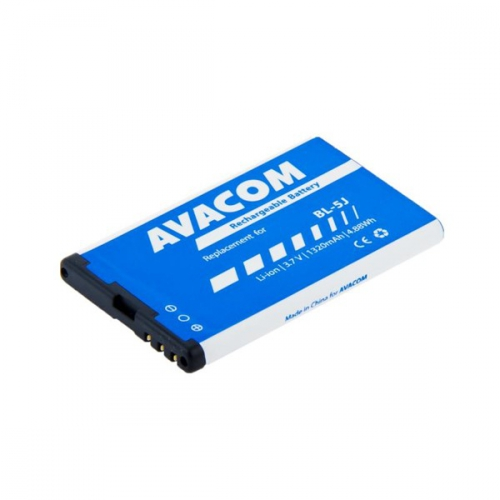 Avacom pro Nokia 5230, 5800, X6, Li-Ion 1320mAh