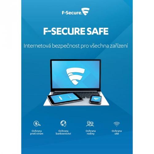 F-Secure SAFE 6 měsíců pro 3 zařízení