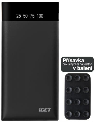 iGET POWER B-15000 mAh černá