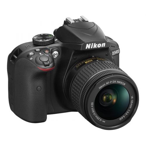Nikon D3400 + AF-P 18-55 NON VR + 4x čištění čipu zdarma