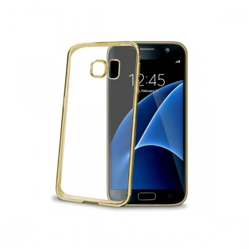 Celly Laser pro Samsung Galaxy S7 zlatý