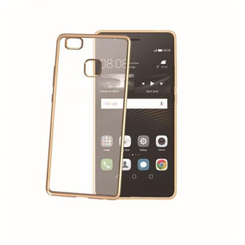 Celly Laser pro Huawei P9 Lite zlatý (BCLP9LITEGD)