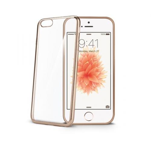 Celly Laser pro Apple iPhone 5/5s/SE zlatý