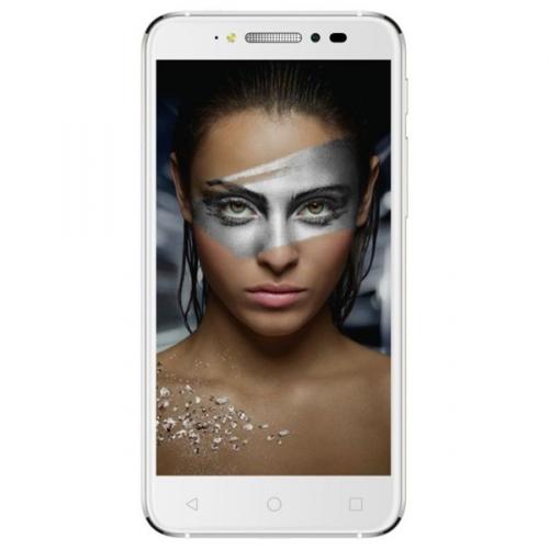 ALCATEL SHINE LITE 5080X - full white stříbrný + dárek
