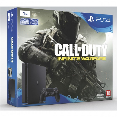 Sony PlayStation 4 SLIM 1TB + Call of Duty: Infinite Warfare černá