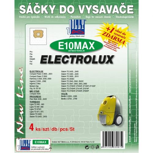 Sáčky do vysavače Jolly MAX E 10 Electrolux