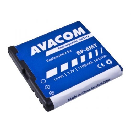 Avacom pro Nokia E51, N81, N81 8GB, N82, Li-Ion 1100mAh (náhrada BP-6MT)