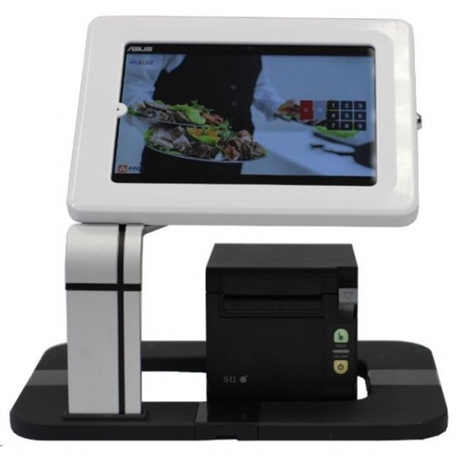 "CUBE EET 10 STAND dotyková pokladna 10"", 2GB, Wifi, BT, Android + pokl. tiskárna LAN"