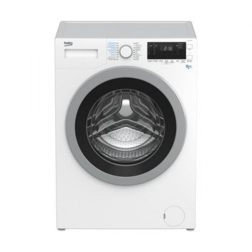 Beko HTV 8733 XS0 stříbrná/bílá