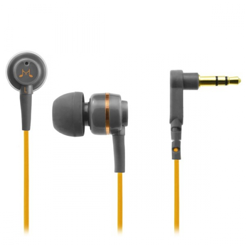 Sluchátka SoundMAGIC ES18 černá/oranžová