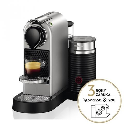 Krups Nespresso Citiz XN760B10 titanium