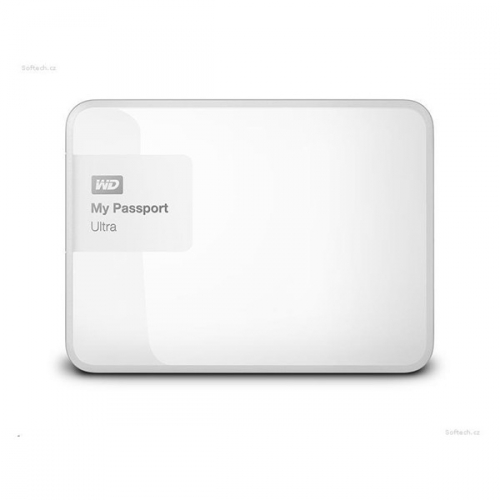 Western Digital My Passport Ultra 4TB bílý