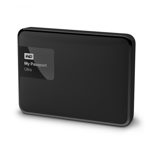 Western Digital My Passport Ultra 4TB černý