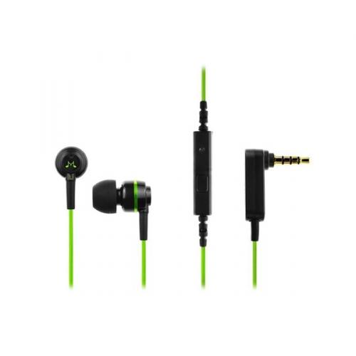 Sluchátka SoundMAGIC ES18S černá/zelená