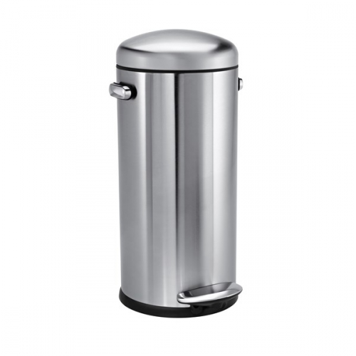 Simplehuman Retro 30 l stříbrný