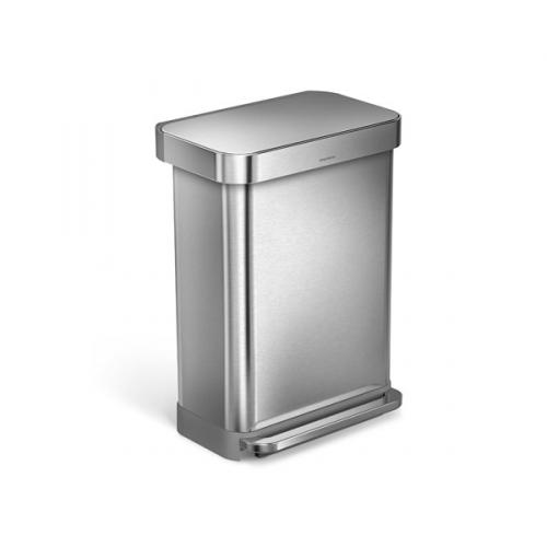 Simplehuman 55 l stříbrný