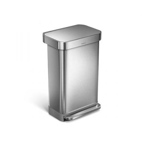 Simplehuman 45 l stříbrný