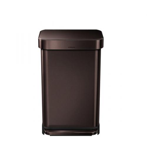 Simplehuman 45 l, tmavý bronz