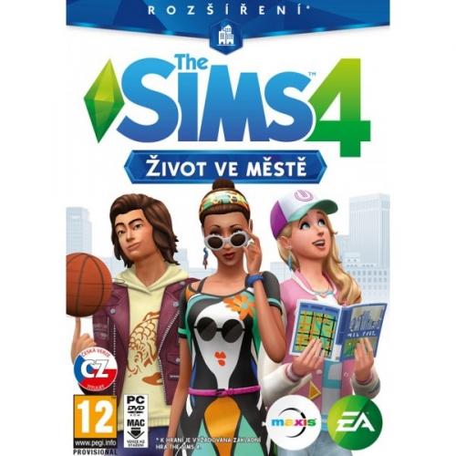 EA PC The Sims 4 - Život ve městě