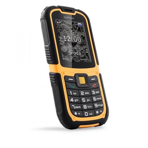 myPhone HAMMER 2 Dual SIM černý/oranžový