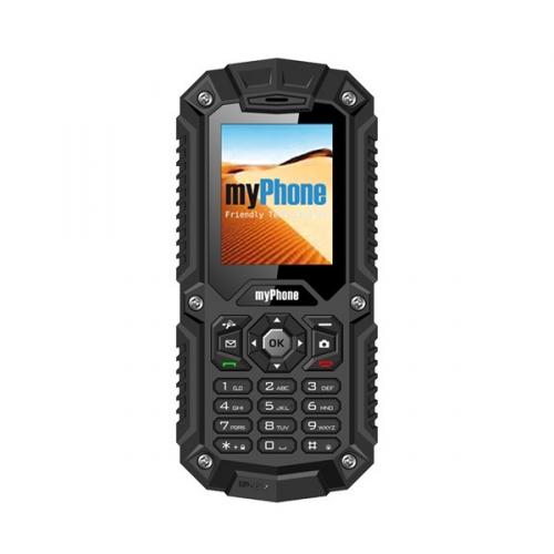 myPhone HAMMER DUAL SIM černý