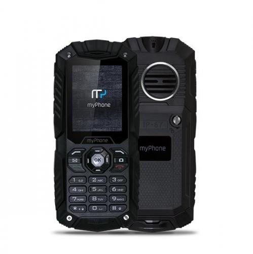myPhone HAMMER PLUS Dual SIM černý