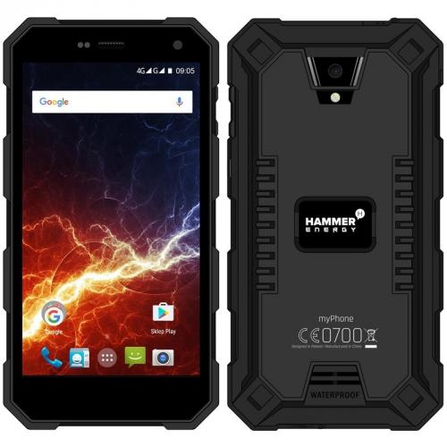 myPhone HAMMER ENERGY Dual SIM černý