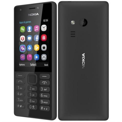 Nokia 216 Single SIM černý