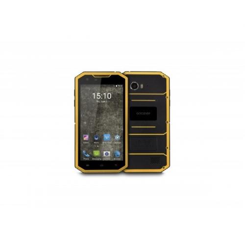 GoClever Quantum 5 500 Rugged LTE Dual SIM černý/žlutý