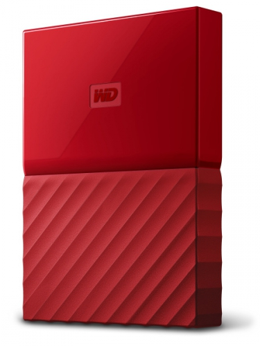 Western Digital My Passport 1TB červený