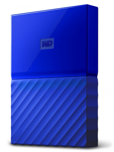 Western Digital My Passport 1TB modrý
