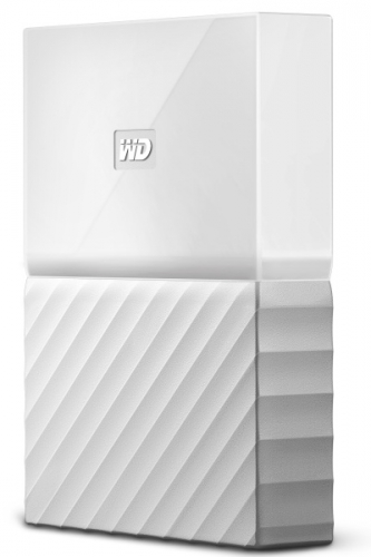 Western Digital My Passport 4TB bílý